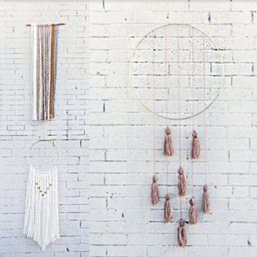 Simple Macrame Wall Hangings