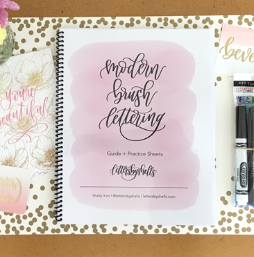 Modern Brush Lettering Workshop