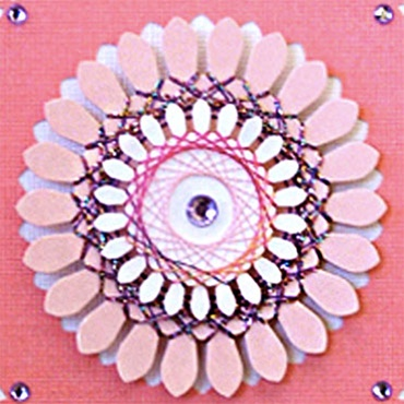 String Art  Embellishments for Paper Crafts