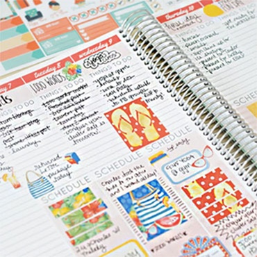 Day Planner into a Memory Keeper