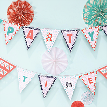 Easy Fabric Banners For Any Occasion