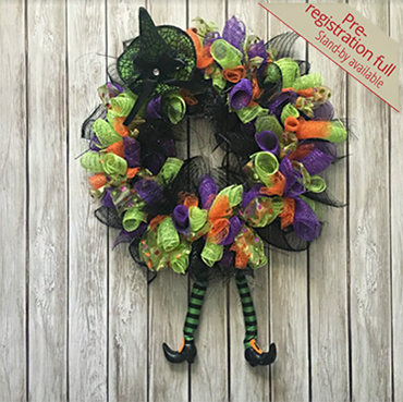 Wicked Fun Witch Wreath