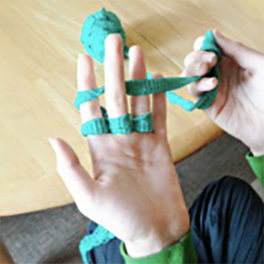 Finger Knitting