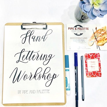 Intro to Handlettering