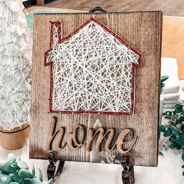 Home String Art